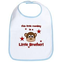 Little Monkey Is Little Broth Bib