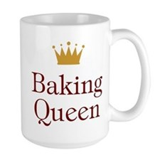 Baking Queen Ceramic Mugs