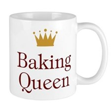 Baking Queen Small Mugs