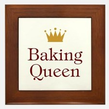 Baking Queen Framed Tile