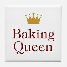 Baking Queen Tile Coaster