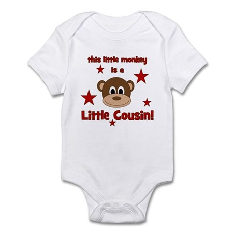 Little Monkey Is Little Cousi Infant Bodysuit