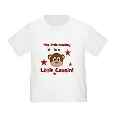 Little Monkey Is Little Cousi T