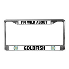 I'm Wild About Goldfish License Plate Frame