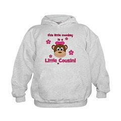 Little Monkey Is Little Cousi Hoodie