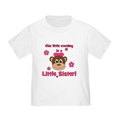 Little Monkey Is Little Siste T