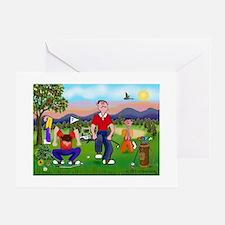 Frustrated Golfers Cartoon Cards (Pk of 10) Greeti