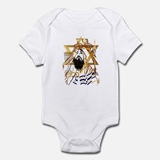 Pass Over Collage Infant Bodysuit