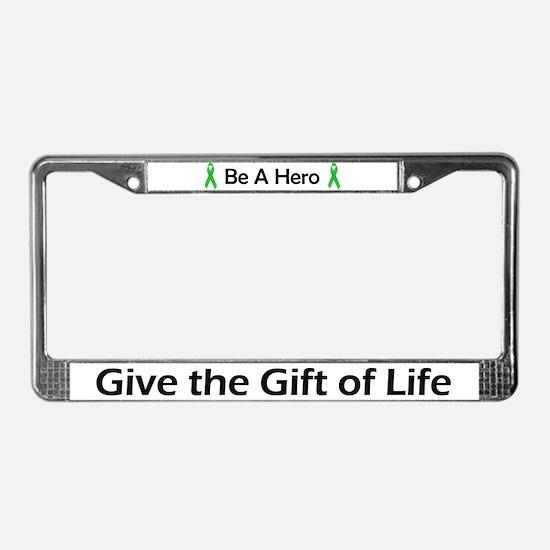 Gift of Life License Plate Frame