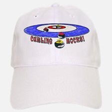 Curling Rocks Mag Baseball Baseball Cap