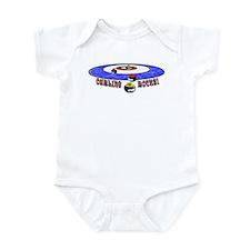 Curling Rocks Mag Infant Bodysuit