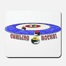 Curling Rocks Mag Mousepad
