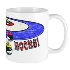 Curling Rocks Mag Mug