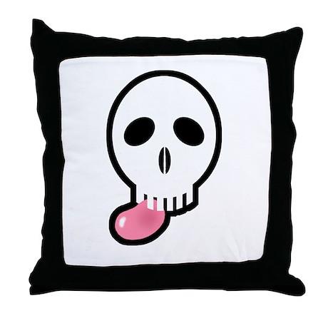 easterskull jellybean2_ Throw Pillow