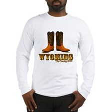 Wyoming: The Cowboy State Long Sleeve T-Shirt