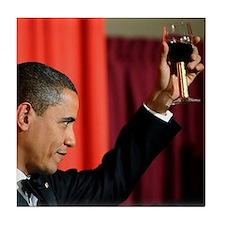 Barack Obama Tile Coaster