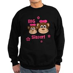 I'm The BIG Sister! Monkey Sweatshirt