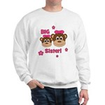 I'm The BIG Sister! Monkey Sweatshirt