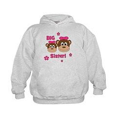 I'm The BIG Sister! Monkey Hoodie