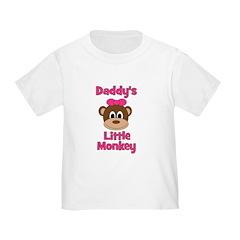 Daddy's Little Monkey T