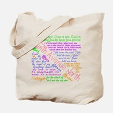 Tenth Avenue North Bright Tote Bag