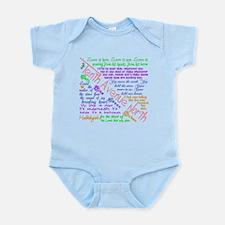Tenth Avenue North Bright Infant Bodysuit