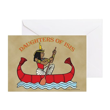 Daughters of Isis Greeting Cards (Pk of 10)
