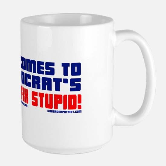 YOU CAN'T FIX STUPID! Large Mug