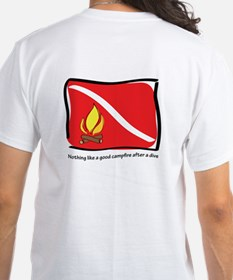 Dive and a camp fire Shirt