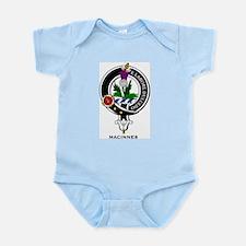 MacInnes Clan Crest Badge Infant Creeper