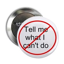"LOST: Don't Tell Me... 2.25"" Button"