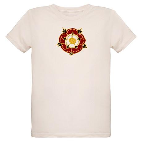 Tudor Rose Organic Kids T-Shirt