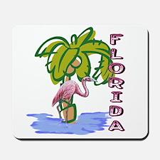Florida flamingo Mousepad