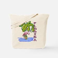 Florida flamingo Tote Bag
