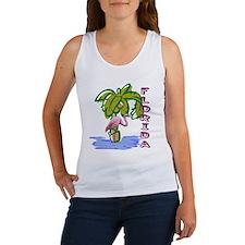 Florida flamingo Women's Tank Top