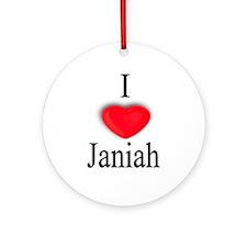 Janiah Ornament (Round)