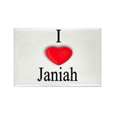 Janiah Rectangle Magnet