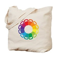 Kettlebell Color Wheel Tote Bag