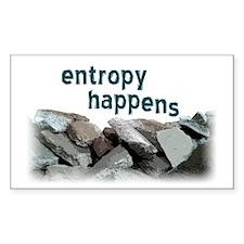 Entropy Happens Decal