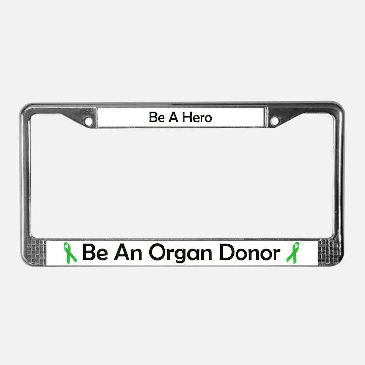 Glasses Frame Donation : Kidney Donation Licence Plate Frames Kidney Donation ...