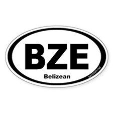 BZE Belizean Decal