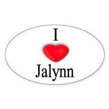 Jalynn Oval Decal