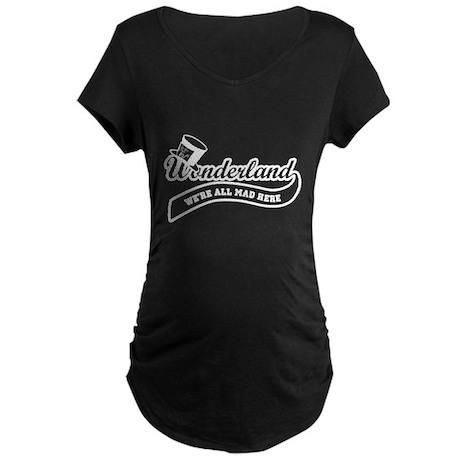 Team Wonderland Maternity Dark T-Shirt