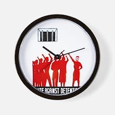 Unite Against Detention  Wall Clock