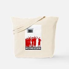 Unite Against Detention  Tote Bag