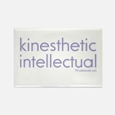 Kinesthetic Intellectual Rectangle Magnet
