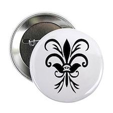"""Lily Fleur 2.25"""" Button (100 pack)"""