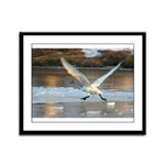 Clear for Take-Off Framed Panel Print
