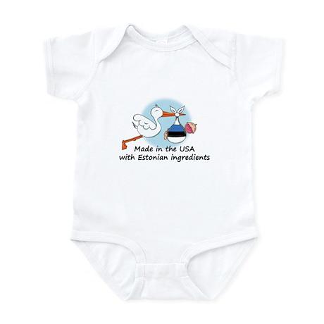 Stork Baby Estonia USA Infant Bodysuit