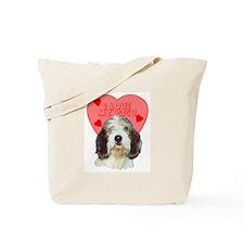 PBGV VALENTINE Tote Bag